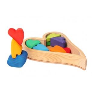 bloques-de-construccion-corazones-de-madera
