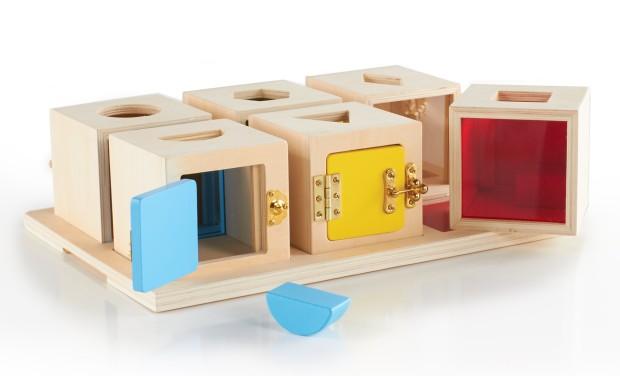 cajas cerraduras madera
